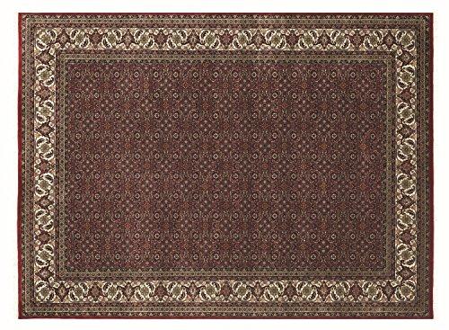 ANARAM HERATI echter klassischer Orientteppich handgeknüpft in rot-creme, Größe: 120x180 cm