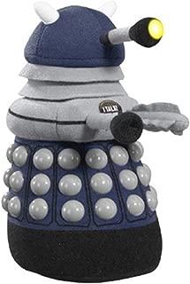 Underground Toys Doctor Who Talking Light-Up Dark Blue Dalek 9-Inch Plush