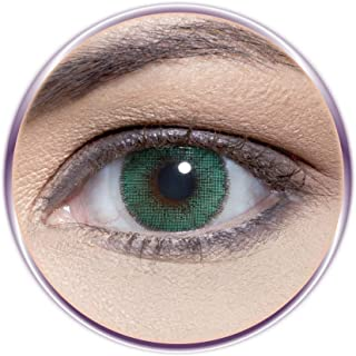 Solotica Natural Colors Cosmetic Contact Lenses Yearly Disposable - Verde (Green)