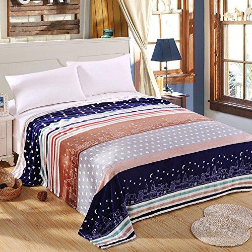Ropa de cama colcha manta 120x 200cm de alta densidad super suave franela manta para el sofá/cama/coche portátil Plaids