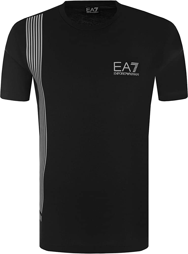 Emporio armani maglietta, t-shirt per uomo ea7,95% cotone, 5% elastan EA7 3ZPT70