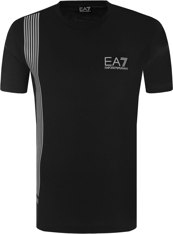 Emporio Armani T-Shirt Hombre EA7 3ZPT70 PJ02Z, Camiseta Cuello Redondo, Manga Corta