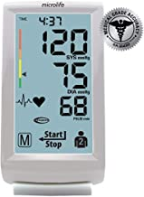 Microlife Upper Arm Digital Blood Pressure Monitor with Large Touch Screen