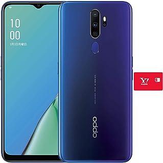 OPPO A5 2020 ブルー 【日本正規代理店品】 + ワイモバイルSIMカード