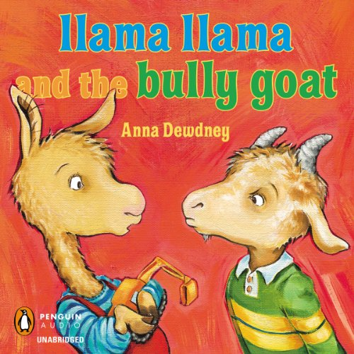Llama Llama and the Bully Goat audiobook cover art