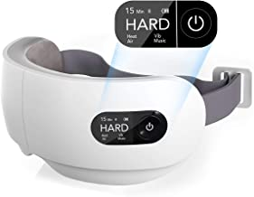 Eye Massager, Naipo Electric Eye Massager with Heat, Vibration, Air Pressure for Relieve Eye Strain Dry Eye Headaches Blue...