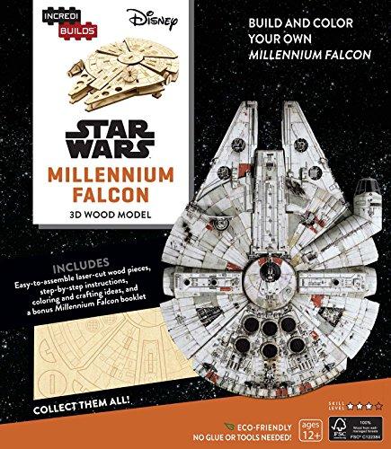 Incredibuilds. Star Wars. Millennium Falcon. 3D Wood Model
