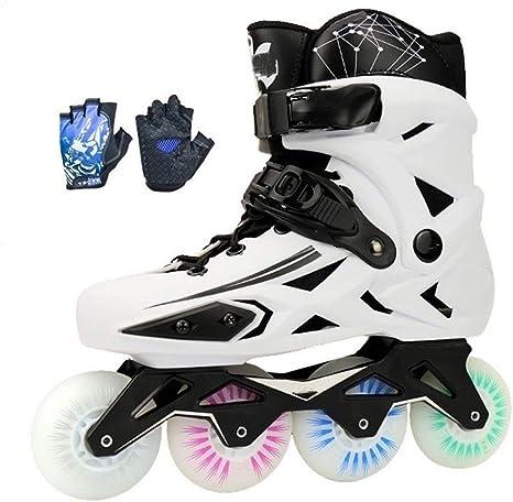 NNN Outdoor Skates Flash Inline Skates Adult Outdoors Comfortable Skates Beginner Roller Skates for Men and Women