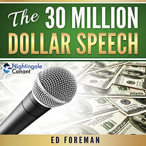 Page de couverture de The 30 Million Dollar Speech