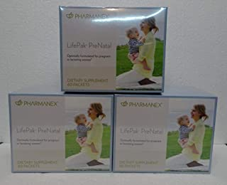 Pack of Three: Pharmanex LifePak Prenatal 60 Packets x3