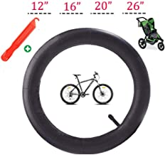 ZSYKD Bicycle Inner Tube,Replacement Inner Tubes for BoB Revolution SE/Pro/Flex/SU/Ironman/Graco FastAction Jogger Stroller Inner Tire Thorn Resistant Mountain Wheel tyre(12