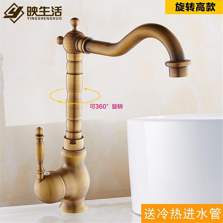 Lvsede Bad Wasserhahn Design Küchenarmatur Niederdruck Vintage Edelstahl Bronze Wasserfall Reines Kupfer I277