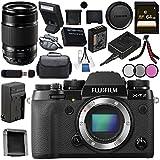 Fujifilm X-T2 Mirrorless Digital Camera (Body Only) 16519247 + Fujifilm XF 55-200mm f/3.5-4.8 R LM OIS Lens 16384941 Bundle