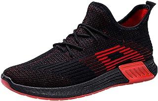 Sportschoenen voor dames en heren, lichte hardloop, zonder veters, ademend, mannelijk modieus zwart, klassiek, casual spor...