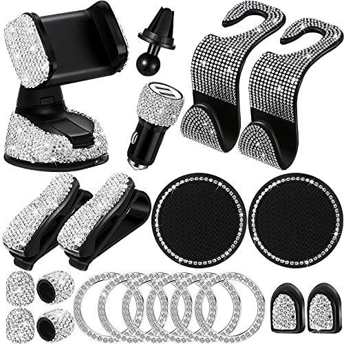 20 Pieces Bling Car Accessories ...