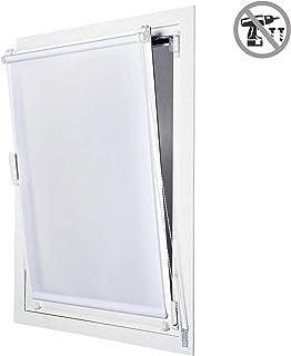comprar comparacion STORESDECO Estor Enrollable traslúcido EasyFix, fácil instalación sin taladrar, Ideal para Ventanas abatibles (60 cm x 180...