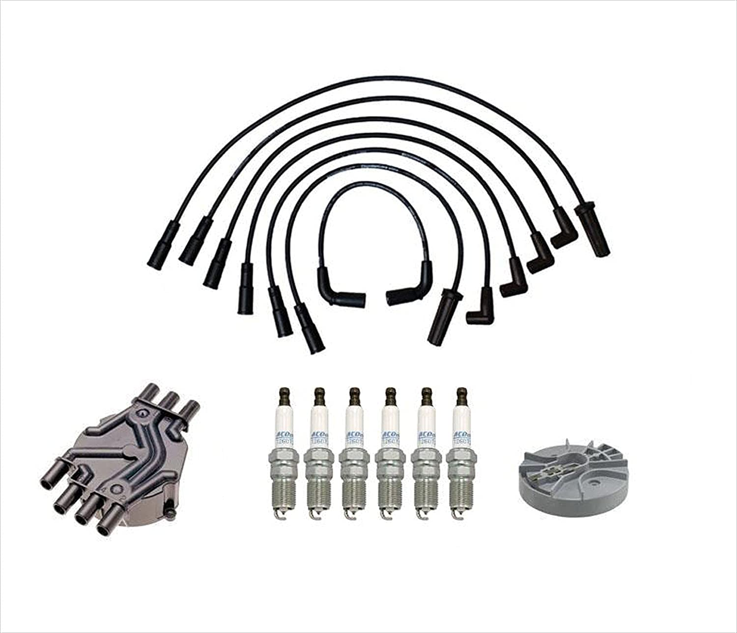 Ignition Wires Spark Plugs Distribuitor Chevrolet GM Colorado Springs Mall Rotor SEAL limited product Cap