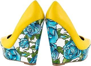 Women's TaylorSays Bonafide Yellow Pumps
