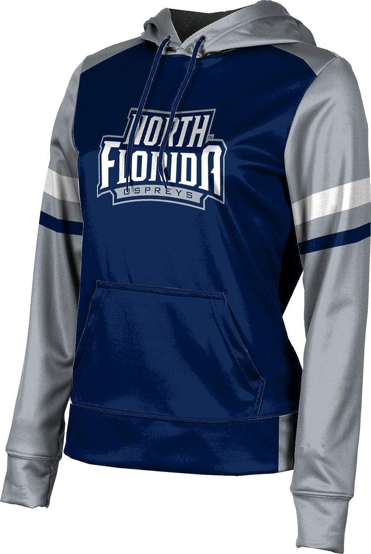 University of North Florida Girls' Pullover Hoodie, School Spirit Sweatshirt (Old School)