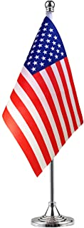 GentleGirl American Flag,USA US Table Flag,Desk Flag,Office Flag,International World Country Flags Banners,Festival Events Celebration,Office Decoration,Desk,Home Decoration