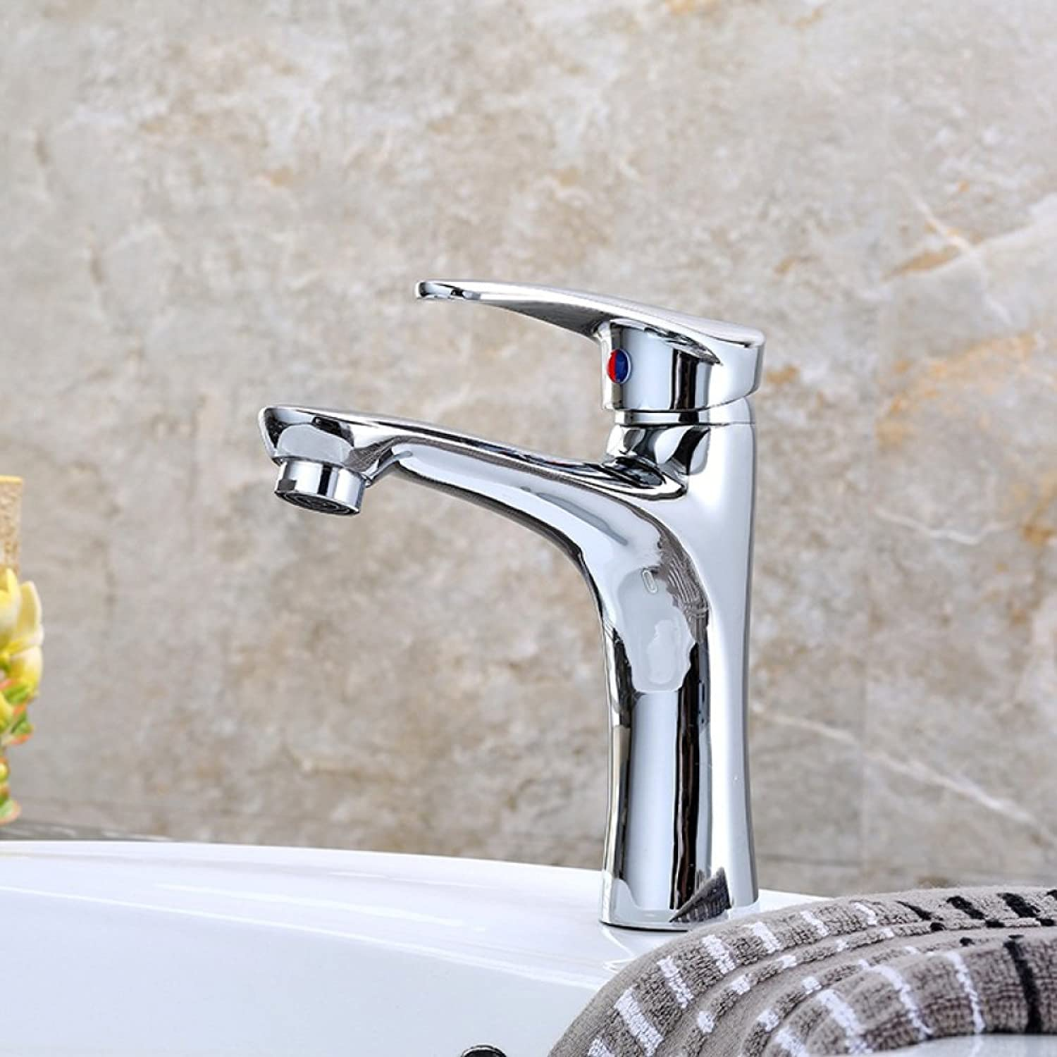 FW Furniture Ware FW All copper basin faucet hot and cold single hole bathroom bathroom washbasin faucet sink faucet