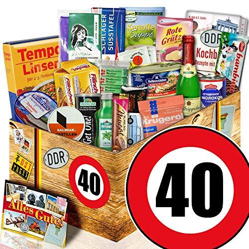 Spezialitäten Geschenk / DDR Geschenkbox / 40 Geburtstag / Geschenkset Frau