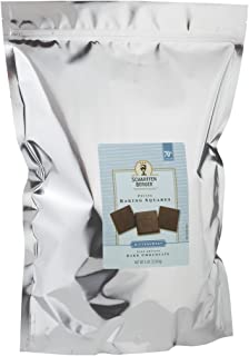 SCHARFFEN BERGER Baking Chocolate Squares, 70% Cacao Bittersweet Dark Chocolate, 5 Pound Package