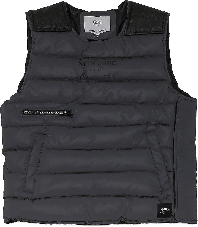 Sixth June | Mens Fashion | Regular Fit Fully Adjustable Pull On Reflective Sleeveless Padded Jacket
