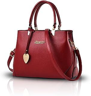 NICOLE & DORIS Women Handbags Ladies Shoulder Bag Fashion Crossbody Bag Elegant Tote Purse Casual Top handle Bag with Pendant