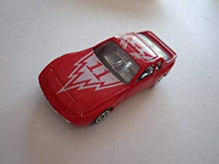 Red Porsche 944 Diecast 75-mm - Made in China (Possibly by Summer)