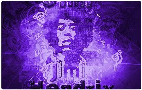 Tree26 Indoor Floor Rug Mat 23 6 X 15 7 Inch Jimi Hendrix Desktop Background Word Cloud