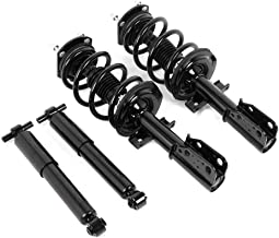 172518 4349125 Front Quick Struts and Springs w/Rear Shock Absorbers kit Fit for 2007 2008 2009 2010 2011 2012 2013 2014 2015 2016 2017 Buick Enclave Chevy Traverse GMC Acadia Select Models