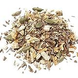 Aromas de Té - Infusión Antiestrés con Canela, Regaliz, Jengibre, Hinojo, Cáscara de Naranja y Cardamomo a Granel, 100 gr.
