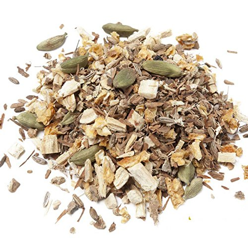 Aromas de Té - Infusión Antiestrés con Canela, Regaliz, Jengibre, Hinojo, Cáscara de Naranja y Cardamomo a Granel, 100 gr