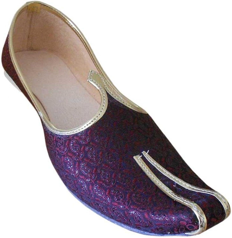 Kalra Creations Men's Traditional Mojari Indian Wedding shoes
