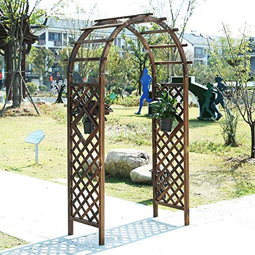 REXX Arche À Rosiers Décoration de Jardin Pergola Arche de Jardin Support pour Plantes Grimpantes Jardin Arche...