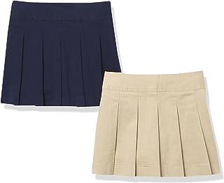 The Children's Place girls Girls Uniform Button Skort 2-Pack Skort