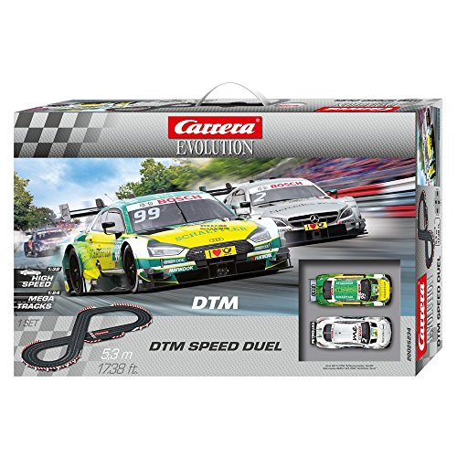 Carrera 20025234 -Evolution DTM Speed Duel Autorennbahn Set