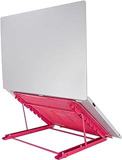 Huryfox Soporte de computadora portátil Ventilado Refrigeración soporte ordenador portátil ajustable para Macbook Pro Air,...