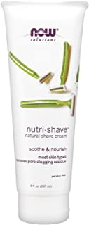 Now Foods Solutions, Nutri-Shave, Natural Shave Cream, 237ml