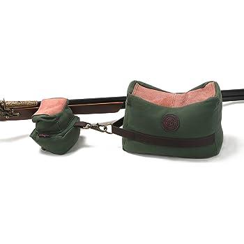 in tela e vera pelle anteriore e posteriore Tourbon colore verde cuscino da sparo anteriore  e posteriore