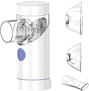 Aerosoon NebSmart 2.0 Handheld Portable Inhaler Household Humidifier with Build-in Rechargeable Li-Polymer Battery