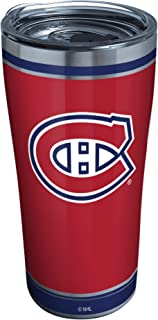 Tervis Triple Walled NHL Montreal Canadiens Insulated Tumbler Cup Keeps Drinks Cold & Hot, 20oz - Stainless Steel, Shootout