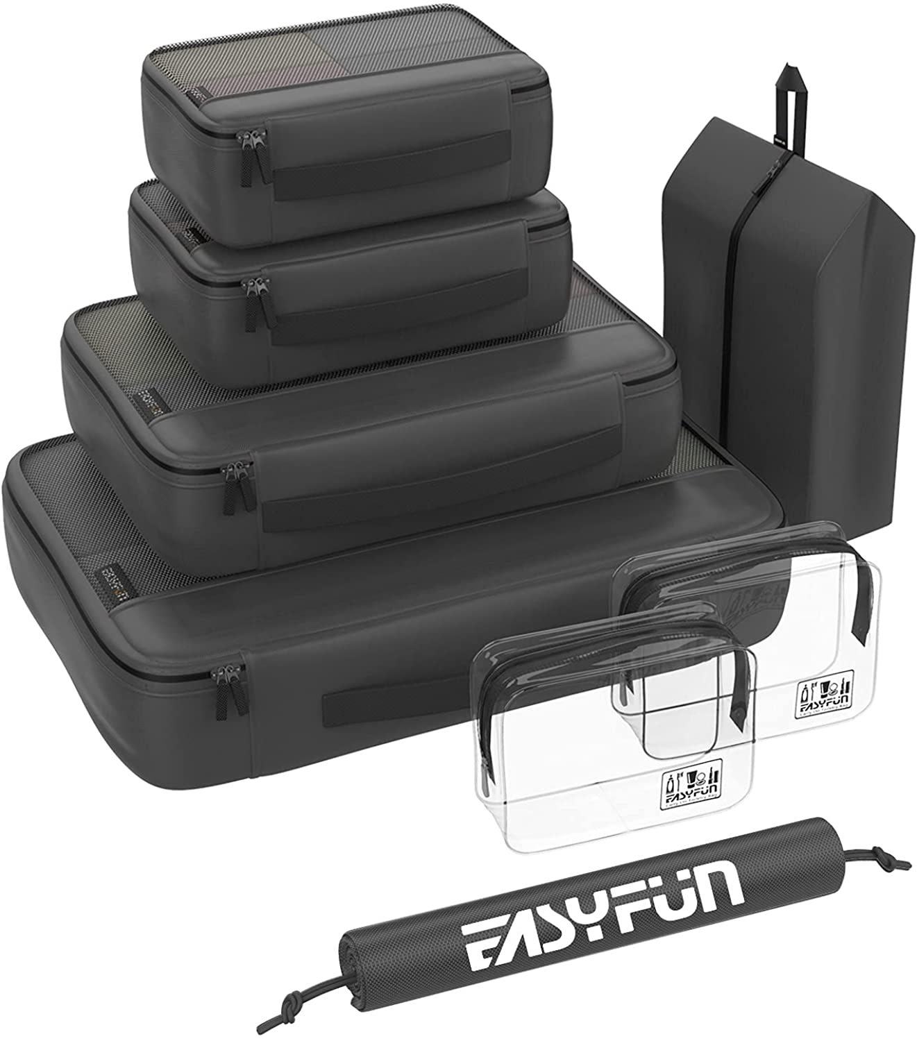 Packing Cubes for Suitcases 8 cube Ranking Finally popular brand TOP3 set Luggage Organizers travel