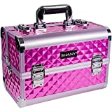 SHANY Premier Fantasy Collection Makeup Artists Cosmetics Train Case - Purple diamond