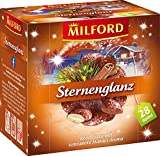 MILFORD Sternenglanz Rooibostee mit Gebrannte-Madel-Aroma 28 Beutel à 2 g, 6er Pack (6 x 56 g)