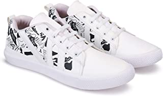 Zenwear Casual Shoes, Sneakers, Lace Up for Men, White