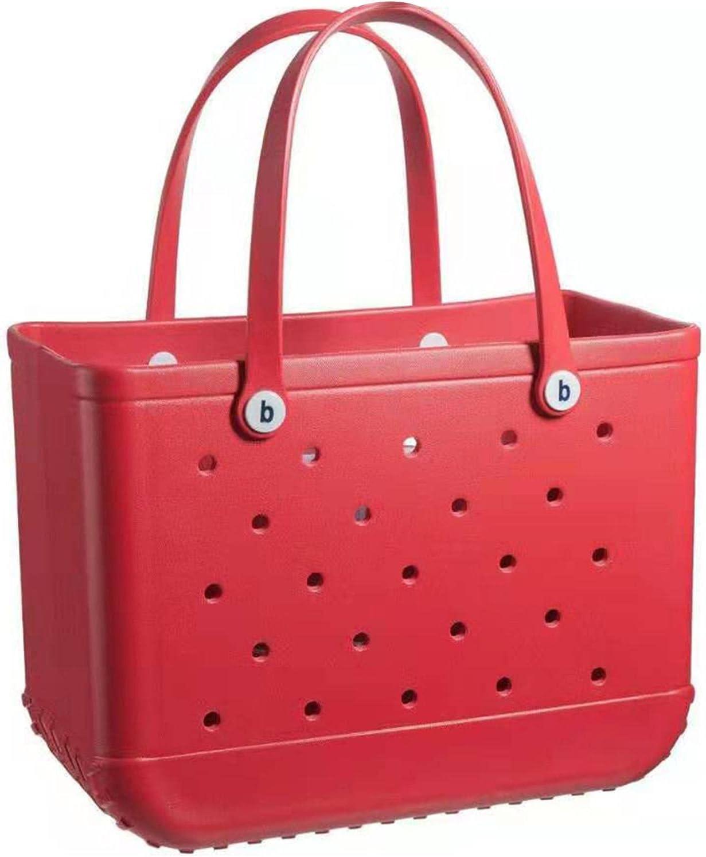 ADJ Beach Tote - Large-Capacity Portland Mall Wa Storage Hole Bag Popular brand Basket