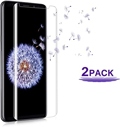 Lxynoou Galaxy S8 Plus Screen Protector, [2PACK][9H Hardness][Anti