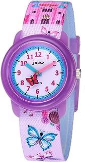 Kinderhorloge Cartoon Horloge Waterdicht Kinderen uur Cartoon Quartz horloge (roze)